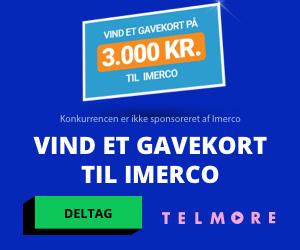 Telmore Gavekort til Imerco